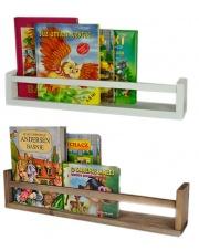 Półka skandynawska na książki 54 cm - 10 kolorów w sklepie Dedekor.pl