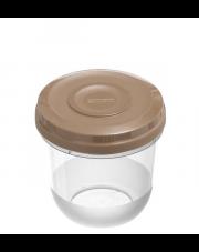 Pojemnik do mikrofali Fusion Fresh 0.75l zmysłowy brąz