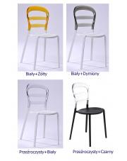 Ekstrawaganckie krzesło Optimist 4 kolory
