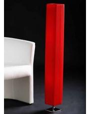 Czerwona lampa podłogowa EXOTIC
