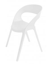 Białe krzesło Angela
