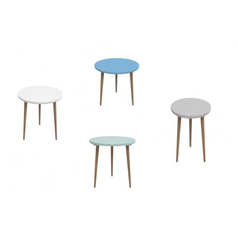 ASTOR okrągły stolik - 4 kolory w sklepie Dedekor.pl