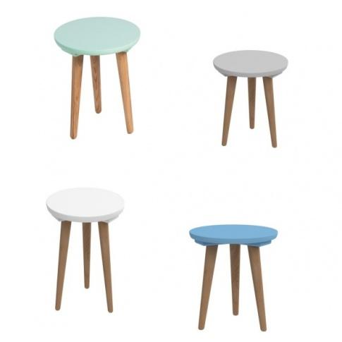 Świetny stolik NOLAN - 4 kolory w sklepie Dedekor.pl