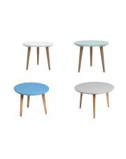 Okrągły stolik MILO - 4 kolory