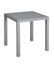 Szary stolik MARTIN aluminium w sklepie Dedekor.pl