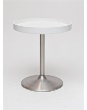 Funkcjonalny stolik PLATO biały
