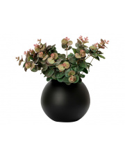 Czarny wazon kula