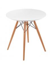 Biały stół VENUS drewno bukowe w sklepie Dedekor.pl