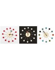 Świetny zegar LIONEL - 3 kolory w sklepie Dedekor.pl