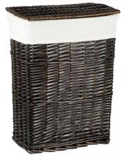Kosz wiklinowy na pranie wenge 54x41x26 cm  w sklepie Dedekor.pl