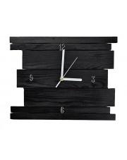 Nowoczesny zegar drewniany - 8 kolorów w sklepie Dedekor.pl