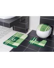 Zielony dywanik do łazienki BORNEO N83 w sklepie Dedekor.pl