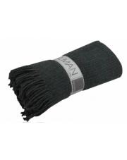 Dwustronny koc AMARO 150x200 cm czarny w sklepie Dedekor.pl