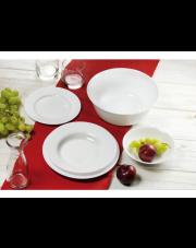 Świetny komplet obiadowy EVERY DAY biały w sklepie Dedekor.pl