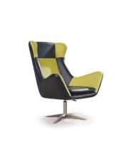Dwukolorowy fotel wypoczynkowy RAFAEL w sklepie Dedekor.pl