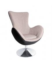 Popielaty fotel wypoczynkowy MOLY w sklepie Dedekor.pl