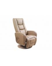 Komfortowy recliner PHILIP beżowy