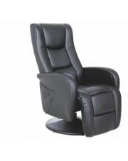 Świetny recliner MAGNUS czarny