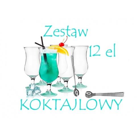 Zestaw kieliszków koktajlowych FIESTA w sklepie Dedekor.pl