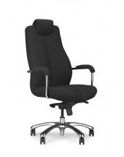 Komfortowy fotel SIMON XXL czarny