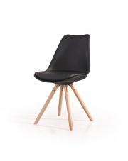 Modne krzesło ALICE czarne
