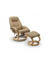 Wyjątkowy fotel wypoczynkowy ORBIS beż