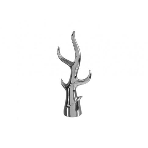 Figurka Dekoracyjna Srebrna