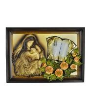 Obraz o motywie religijnym Matka Boska z dedykacją w sklepie Dedekor.pl
