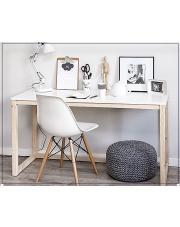 Skandynawskie biurko Inelo-X3 duże w sklepie Dedekor.pl