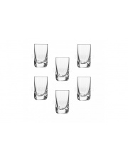 Komplet 6 kieliszków do wódki 40 ml QUADRA KROSNO w sklepie Dedekor.pl