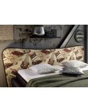 Stylowe łóżko TOMMY - 140 cm w sklepie Dedekor.pl