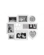 Ramka na 8 zdjęć LOVE