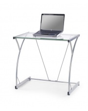 Szklane biurko pod laptopa bezbarwny