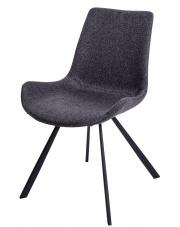 Komfortowe krzesło HAGIEL szare w sklepie Dedekor.pl