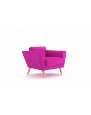 Komfortowy fotel LYDIA róż w sklepie Dedekor.pl