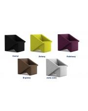 Niebanalny fotel RIMMIE - 5 kolorów w sklepie Dedekor.pl
