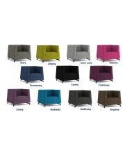 Komfortowy fotel NODDIE - 11 kolorów w sklepie Dedekor.pl