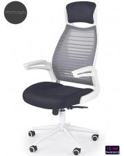 Obrotowy fotel biurowy Logan, wentylowany