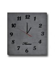 Duży zegar Home drewniany - kolory w sklepie Dedekor.pl