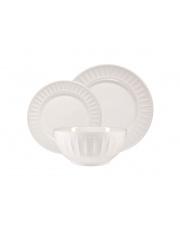 Komplet obiadowy z porcelany LYON - 18 elementów w sklepie Dedekor.pl
