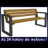 Ławka ogrodowa z oparciem 180 cm w sklepie Dedekor.pl