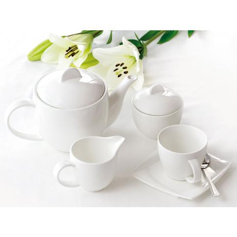 DIVA wyjątkowy zestaw kawowy - 17 elementów w sklepie Dedekor.pl