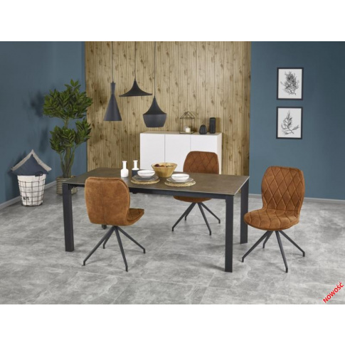 Rozkładany stół HORAL - ceramiczny blat w sklepie Dedekor.pl