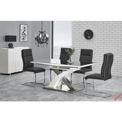 W Mega Modernistyczny stół rozkładany ZADOR , Stoły rozkładane, Stoły CK84