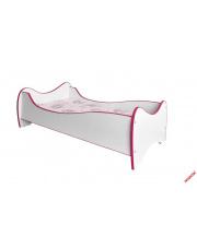 Urocze łóżko dla dziecka MILKY różowo-białe w sklepie Dedekor.pl