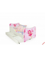 Urocze łóżko dla dziewczynki SWEETY w sklepie Dedekor.pl