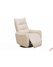Komfortowy recliner MIDAL eco skóra