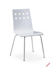Metalowe krzesło Tridin - białe  w sklepie Dedekor.pl