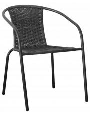 Modne krzesło ogrodowe MOLLY - rattan w sklepie Dedekor.pl