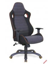 Modernistyczny fotel gabinetowy UMER - popielaty